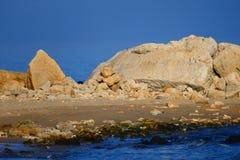 Ακτή χειμερινής θάλασσας wilde Στοκ φωτογραφίες με δικαίωμα ελεύθερης χρήσης