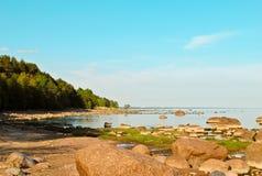 ακτή δύσκολη Στοκ φωτογραφίες με δικαίωμα ελεύθερης χρήσης