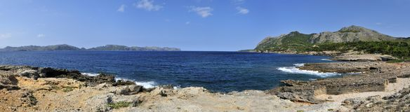 ακτή alcudia Στοκ φωτογραφία με δικαίωμα ελεύθερης χρήσης