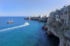 Ακτή Apulia Στοκ Εικόνες