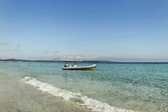 Ακτή aranci Golfo. Στοκ Εικόνες