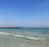 Ακτή aranci Golfo. Στοκ Φωτογραφία