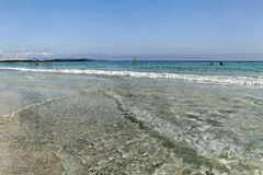 Ακτή aranci Golfo. Στοκ εικόνα με δικαίωμα ελεύθερης χρήσης