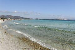 Ακτή aranci Golfo. Στοκ Εικόνα