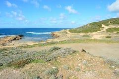 Ακτή Argentiera Στοκ φωτογραφίες με δικαίωμα ελεύθερης χρήσης