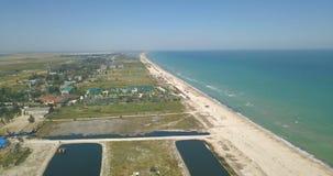 Ακτή Azov της θάλασσας