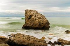 Ακτή Bolonia, Tarifa παραλία Στοκ φωτογραφία με δικαίωμα ελεύθερης χρήσης
