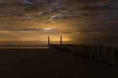 Ακτή Bruegge, Βέλγιο Στοκ Φωτογραφίες