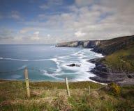 ακτή Cornish Στοκ εικόνα με δικαίωμα ελεύθερης χρήσης