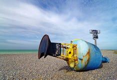 Ακτή Dieppe στην ακτή της Νορμανδίας στοκ εικόνα