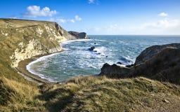 ακτή Dorset jurassic στοκ εικόνες
