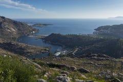 Ακτή Ezaro Στοκ Φωτογραφία
