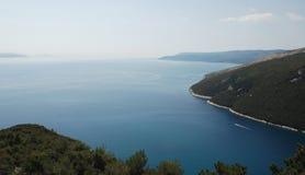 Ακτή Istrian κοντά σε Plomin 1 Στοκ Εικόνες