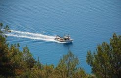 Ακτή Istrian κοντά σε Plomin Στοκ φωτογραφία με δικαίωμα ελεύθερης χρήσης