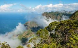 Ακτή kauai Χαβάη Napali Στοκ Εικόνες