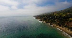 Ακτή Malibu απόθεμα βίντεο