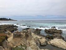 Ακτή Monterey Drive 17 μιλι'ου στοκ φωτογραφία με δικαίωμα ελεύθερης χρήσης