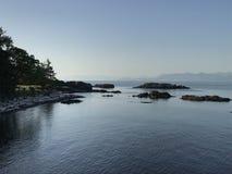 Ακτή Nanaimo Στοκ Εικόνες