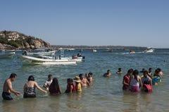 Ακτή Oaxaca στοκ φωτογραφία