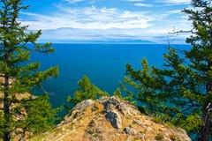 Ακτή Olkhon νησιών Στοκ φωτογραφία με δικαίωμα ελεύθερης χρήσης