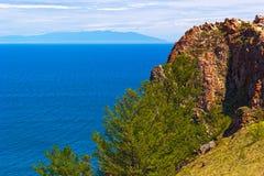 Ακτή Olkhon νησιών Στοκ φωτογραφίες με δικαίωμα ελεύθερης χρήσης