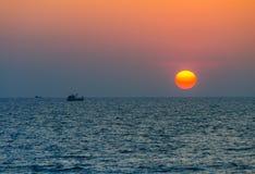 Ακτή Phuket, παραλία της Mai Khao Στοκ Φωτογραφίες