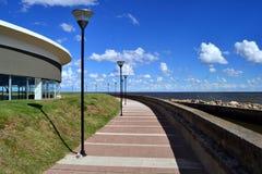 Ακτή Pocitos, Μοντεβίδεο, Ουρουγουάη Στοκ εικόνα με δικαίωμα ελεύθερης χρήσης