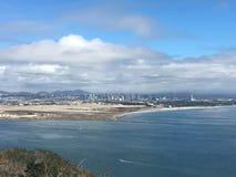 Ακτή Point Loma Καλιφόρνιας στοκ φωτογραφία