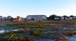 Ακτή Provincetown στην ανατολή κατά τη διάρκεια της χαμηλής παλίρροιας στοκ φωτογραφία με δικαίωμα ελεύθερης χρήσης