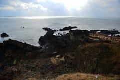 Ακτή Seopjikopji στοκ εικόνες