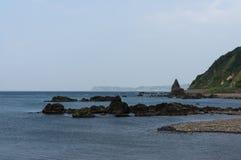Ακτή Shakotan Στοκ Φωτογραφίες