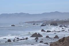 Ακτή Sonoma στοκ φωτογραφίες με δικαίωμα ελεύθερης χρήσης