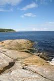 ακτή tadoussac πλησίον Στοκ εικόνα με δικαίωμα ελεύθερης χρήσης
