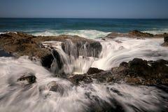 Ακτή Thors καλά Όρεγκον σίφουνων Στοκ Εικόνες
