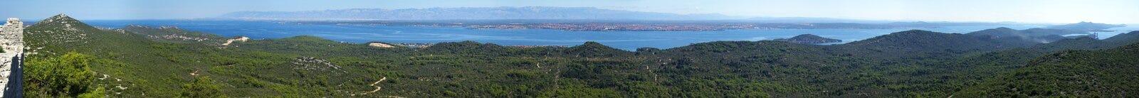 Ακτή Ugljan   Στοκ εικόνες με δικαίωμα ελεύθερης χρήσης