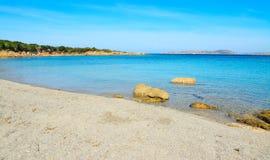 Ακτή Verde Conca με τους βράχους Στοκ Εικόνες
