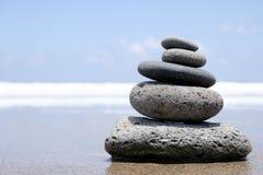 ακτή zen στοκ εικόνες