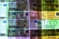 Ακτίνα X ευρώ Στοκ Φωτογραφία