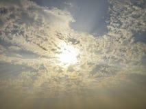 Ακτίνα ουρανού Στοκ εικόνες με δικαίωμα ελεύθερης χρήσης