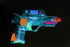 ακτίνα πυροβόλων όπλων αναδρομική Στοκ φωτογραφία με δικαίωμα ελεύθερης χρήσης