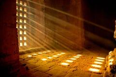 ακτίνα του φωτός μέσα στην παγόδα Στοκ Φωτογραφία