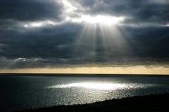 Ακτίνα του φωτός Στοκ εικόνα με δικαίωμα ελεύθερης χρήσης