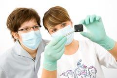 ακτίνα Χ γιατρών Στοκ εικόνες με δικαίωμα ελεύθερης χρήσης