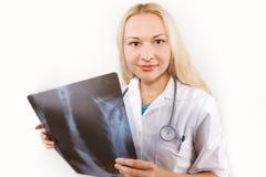 ακτίνα Χ γιατρών Στοκ Εικόνες