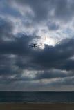 Ακτίνες ήλιων από το σύννεφο Στοκ φωτογραφία με δικαίωμα ελεύθερης χρήσης