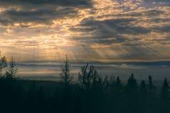 Ακτίνες Θεών Στοκ εικόνα με δικαίωμα ελεύθερης χρήσης