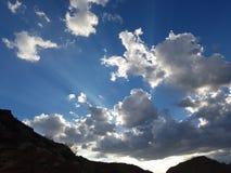 Ακτίνες Θεών Στοκ φωτογραφία με δικαίωμα ελεύθερης χρήσης