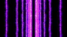 Ακτίνες λέιζερ χρώματος στο μαύρο υπόβαθρο E Όμορφες ακτίνες Ελαφριά ζωτικότητα βροντής ελεύθερη απεικόνιση δικαιώματος