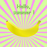 Ακτίνες μπανανών Στοκ Εικόνες
