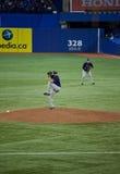 Ακτίνες του Tampa Bay στους Toronto Blue Jays Στοκ εικόνες με δικαίωμα ελεύθερης χρήσης